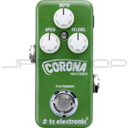 TC Electronic Corona Mini Chorus Pedal + Free Power Supply Combo