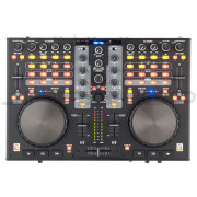 Stanton DJC.4 Digital DJ Controller With Built in Audio Interface and Virtual DJ - Open Box