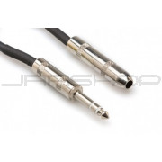 "Hosa DOC-106 Direct Out Cable: TRS 1/4"" (M) to TS 1/4"" (F)"
