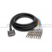 """Hosa DTP-802 DB-25 to TRS 1/4"""" DSUB Snake 2m"""