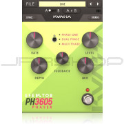 Kuassa Efektor PH3605 Phaser FX Engine Plugin