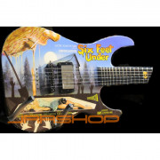 ESP LTD Six Feet Under Limited Edition Art Guitar