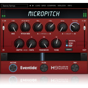 Eventide MicroPitch Widener/Thickener Plugin