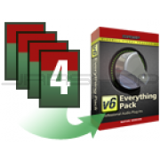 McDSP Upgrade Any 4 Native plug-in to Everything Pack Native v6.4