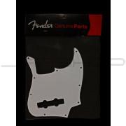 Fender - Pickguard White 70's Jazz Bass