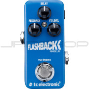 TC Electronic Flashback Mini Delay Pedal + Free Power Supply Combo