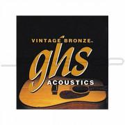 GHS Vintage Bronze Ultra-Light 1-Set Acoustic Guitar Strings