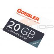 Gobbler Gobbler 20 GB Annual Plan