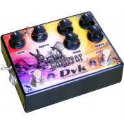 DVK Technologies The GoldTop Fuzz / Vibe Pedal