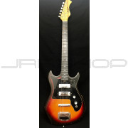 Harmony H-802 Sunburst Electric Guitar Used