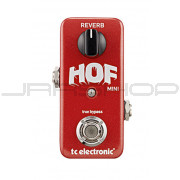 TC Electronic Hall of Fame Mini HOF Reverb Pedal