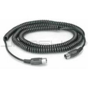 Hosa MID-325C Coiled MIDI Cable 25 ft.