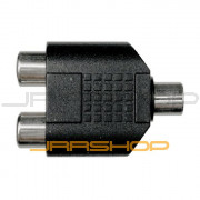 Hosa GRF341 Dual RCA M to Stereo 3.5mm F Adaptor