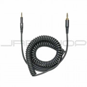 Audio Technica HP-CC 1.2m-3m (3.9'-9.8') coiled (black) replacementcable for ATH-M40x and ATH-M50x headphones