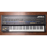 Uberzone Roland Jupiter 6 Analog Synthesizer Keyboard - Used