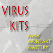 Homegrown Sounds Virus Kits WAV for Battery and Kontakt