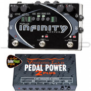 Pigtronix Infinity Looper Pedal + Voodoo Lab Pedal Power 2 Plus Combo