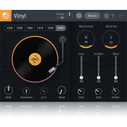 iZotope Vinyl Lo-Fi and Spin Down Plugin