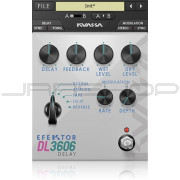 Kuassa Efektor DL3606 Delay Plugin