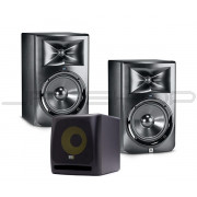 "JBL LSR308 8"" Monitors (Pair) + KRK KRK10S 10"" Subwoofer"