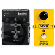 Eventide Mixing Link + MXR M148 Micro Chorus Combo