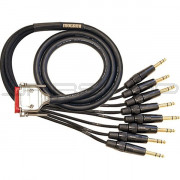 Mogami Gold DB25 to TRS Analog Interface Cable - 15ft.