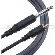 Mogami Gold 1/4TS to RCA Cable - 6ft.