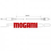 "Mogami Puroflex I Patch Cable - 1/4"" to RCA Mono - 1ft to 20ft"