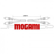 Mogami Puroflex I Patch Cable - RCA to RCA Stereo - 3 ft.