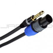 Monster S100-S-10SPMT Spkr Cable w/ Spk-On Connectors