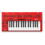 Behringer MS-1-RD Red SH-101 Analog Synthesizer Keyboard
