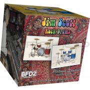 Platinum Samples Jim Scott Rock Drums Vol.1 for BFD