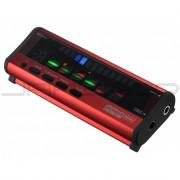 Korg Pitchblack Portable Polyphonic Tuner - Red