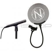 Audio Technica AT4041 Open Box + Free NOS Audio Pop Filter