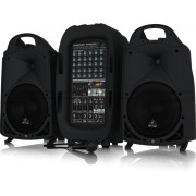 Behringer PPA2000BT 2000 Watt 8-Channel Portable PA System