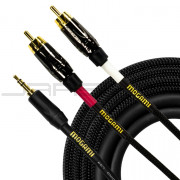 "Mogami GOLD 3.5 2 RCA 10 ⅛"" Cable"