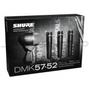 Shure DMK57-52 Drum Mic Kit wtih 3 x SM57 and 1 x Beta 52