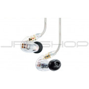 Shure SE315 Sound Isolating Earphones Clear