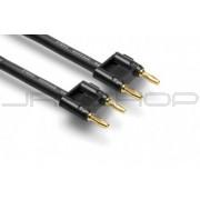 Hosa SKJ-6100BB Speaker Cable Dual Banana to Same, 100 ft