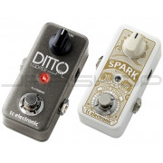TC Electronic Ditto Looper + Spark Mini Booster Pedal Combo