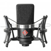 Neumann TLM 102 Set Cardioid Condenser Microphone Black with EA 4 Shockmount