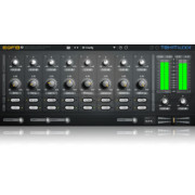 TEK'IT Audio EQF8 2 Semi Parametric 8 Band Equalizer