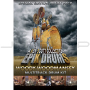 Sonic Reality EpiK DrumS - Woody Woodmansey Kit for BFD2